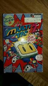Bomberman multitap 2 for super famicom