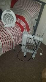 Fan heater and oil radiator