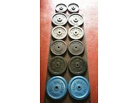WEIGHT PLATES METAL £ A KILO