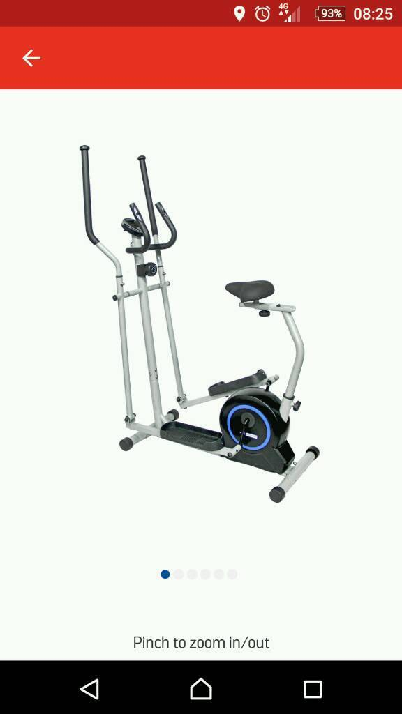 Cross trainer /exercise bike