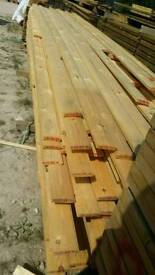 Untreated Log Lap (20mm x 95mm) - Various Lengths