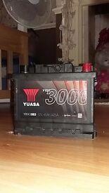 Car battery Yuasa YBX3063