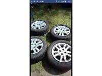 "Honda civic 15"" alloys ep1/ep2 plus honda civic type r side skirts both good condition £80 for both"