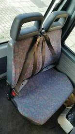 Clean and nice Ldv convoy seats (single, double, triple)