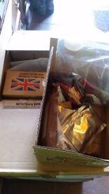 British ration packs /camping