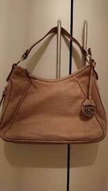 Gianni conti natural nude handbag ex condition can post etc