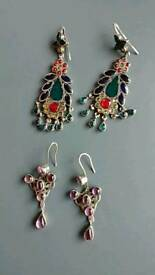 Lovely 925 silver earrings