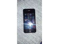 Iphone 4 16GB black excellent condition