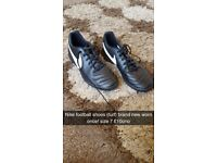 brand new football shoes