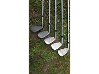 US Kids Golf - Ultra light 60 set of children's golf clubs and bag.