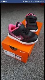 Infant size 4.5 Nike Trainers