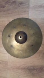 Old Vintage & Effects cymbals (Rivetted sizzle / China etc)