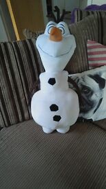 Large Olaf stuffed toy