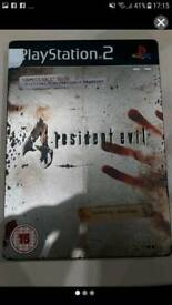 Resident Evil PS2 steel book