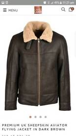 Lakeland Aviator & sheepskin flying jacket