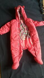 joules 9/12 month cosy all in one