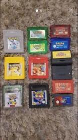 Nintendo gameboy Pokemon games gba