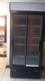 free-unright drink fridge