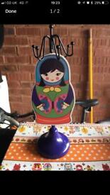 Russian Doll jewellery holder / stand