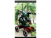 Stationary Engine WANTED Petter M Type.. HOPPER Cooled Only.
