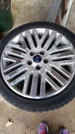 Ford mondeo wheels with tyres set of 4