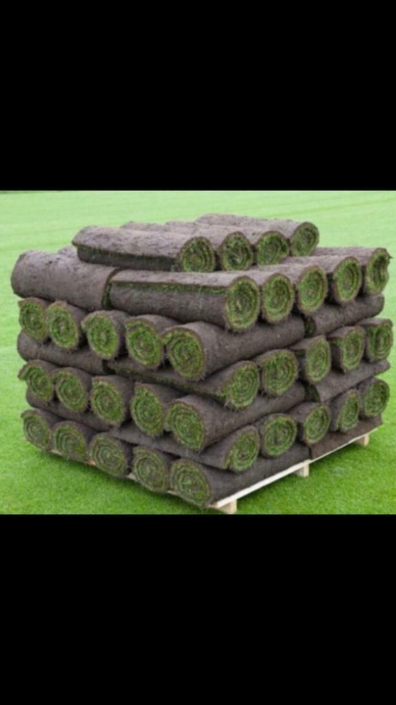 *Clearance* High Quality grass turf rolls garden turfing | in Southside,  Glasgow | Gumtree