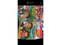 4 x Dora The Explorer Books
