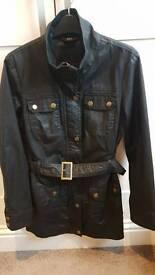 Ladies barbour style coat - mint condition
