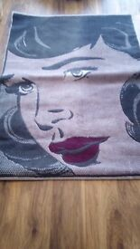Large Pop art style rug