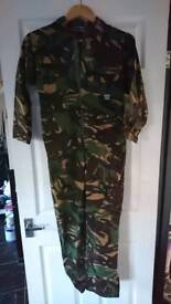 """Boys camouflage overalls size 32"""""""