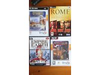 pc computer games windows based job lot 3