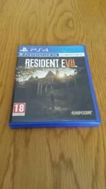 Resident evil -biohazard. PS4 Game.