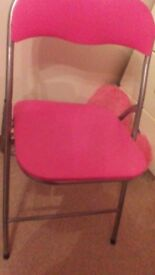 pink chair