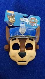 Paw patrol chase mask unused