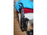 "Alto Saxophone - Trevor James ""The Horn"" Revolution II (Frosted Black)"