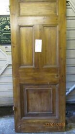 THICK HEAVY SOLID PINE DOOR EXTERNAL THICKNESS