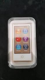 iPod Nano 7th Gen 16GB Gold *NEW* *SEALED*