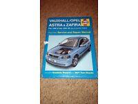 Haynes Manual Vauxhall Astra