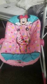 Minnie mouse bouncer chair