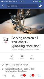 Learn to sew sewing lessons