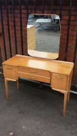 Retro vintage dressing table Antiques 2 sculcoates lane hull