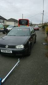 Volkswagen Golf petrol and diesel parts available