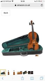 Brand New, unopened Violin 4/4 included soft zipped case