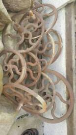 Cast iron factory wheels