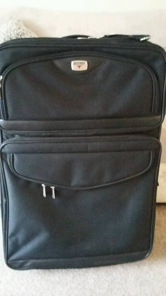 Large Antler Suitcase