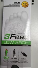 Sidas 3 feet insoles various sizes 19 pairs available