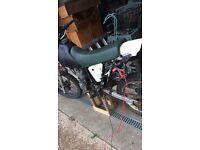 Honda 185 motorbike 4 stroke
