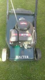 Hayter push mower