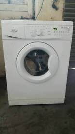 Whirlpool washing machine 8kg A+A1400 spin