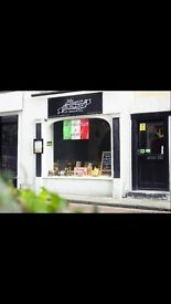 BUSY ITALIAN RESTAURANT AND PIZZERIA FOR SALE